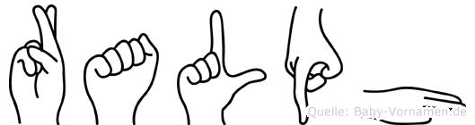 Ralph in Fingersprache für Gehörlose