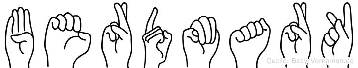 Berdmark in Fingersprache für Gehörlose