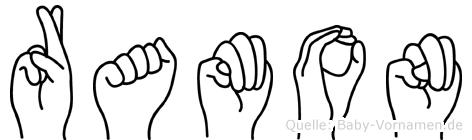 Ramon in Fingersprache für Gehörlose
