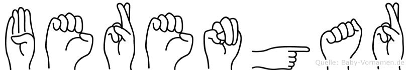 Berengar in Fingersprache für Gehörlose