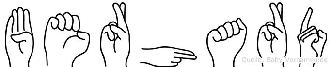 Berhard in Fingersprache für Gehörlose