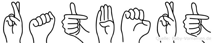 Ratbert in Fingersprache für Gehörlose