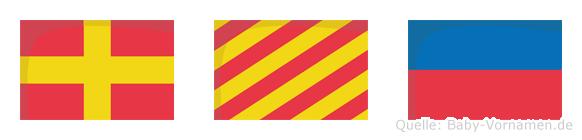 Rye im Flaggenalphabet