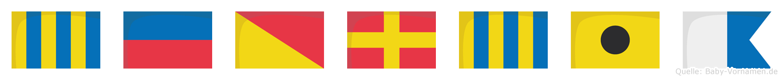 Georgia im Flaggenalphabet