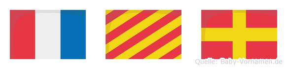 Tyr im Flaggenalphabet