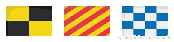 Lyn im Flaggenalphabet