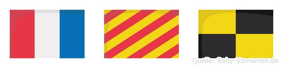 Tyl im Flaggenalphabet