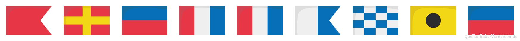 Brettanie im Flaggenalphabet