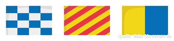 Nyk im Flaggenalphabet