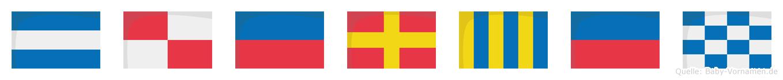 Juergen im Flaggenalphabet