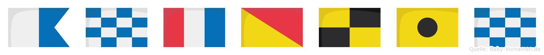 Antolin im Flaggenalphabet