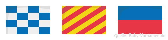 Nye im Flaggenalphabet