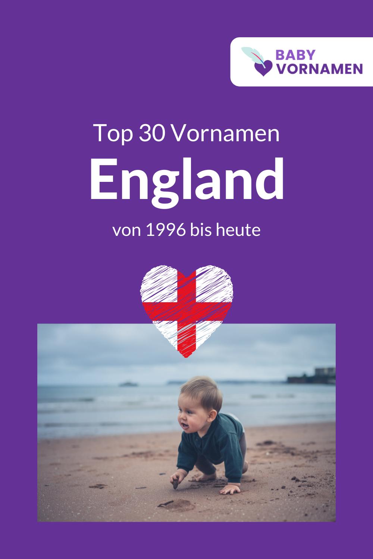 Beliebteste Vornamen in England