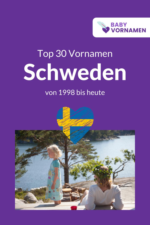 Beliebteste Vornamen in Schweden