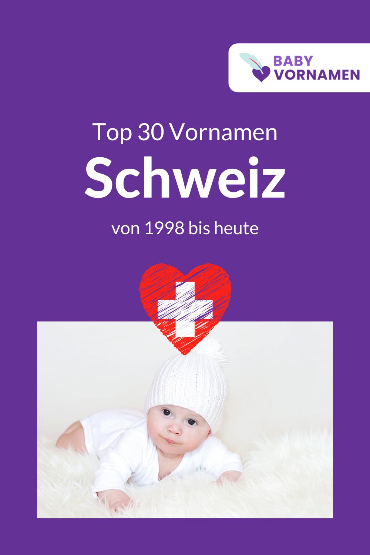 Beliebteste Vornamen der Schweiz