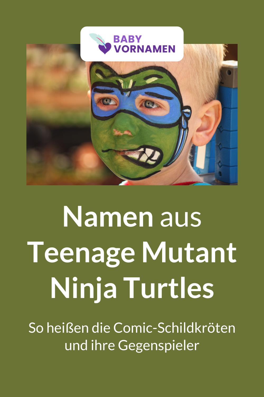 Namen aus Teenage Mutant Ninja Turtles