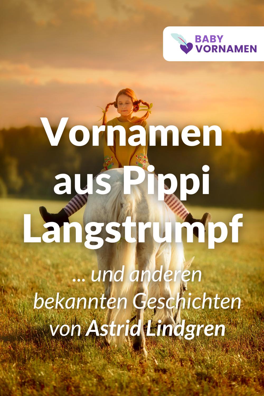 Vornamen aus Astrid Lindgren-Büchern