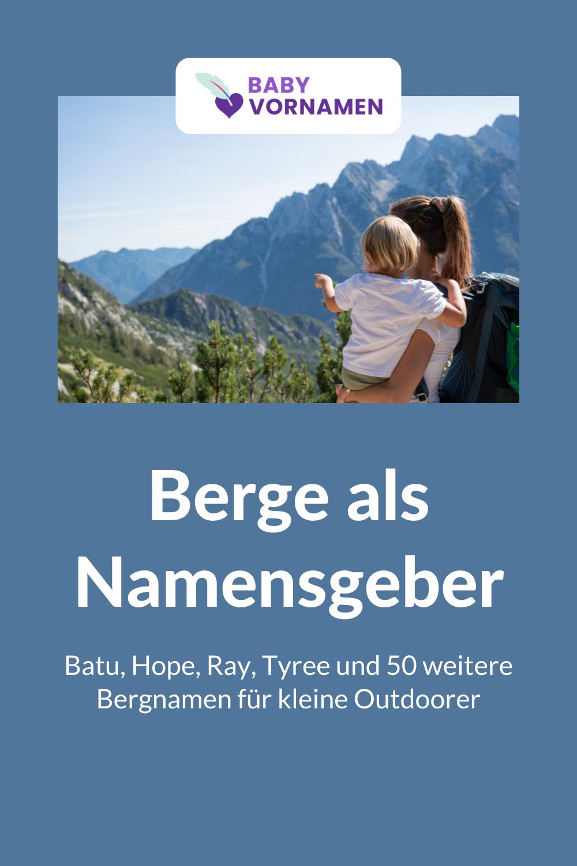 Vornamen von Bergen