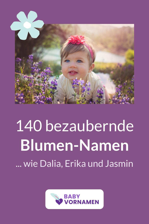 140 schöne Blumen-Vornamen