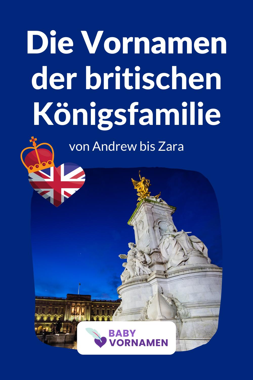 Vornamen der britischen Königsfamilie