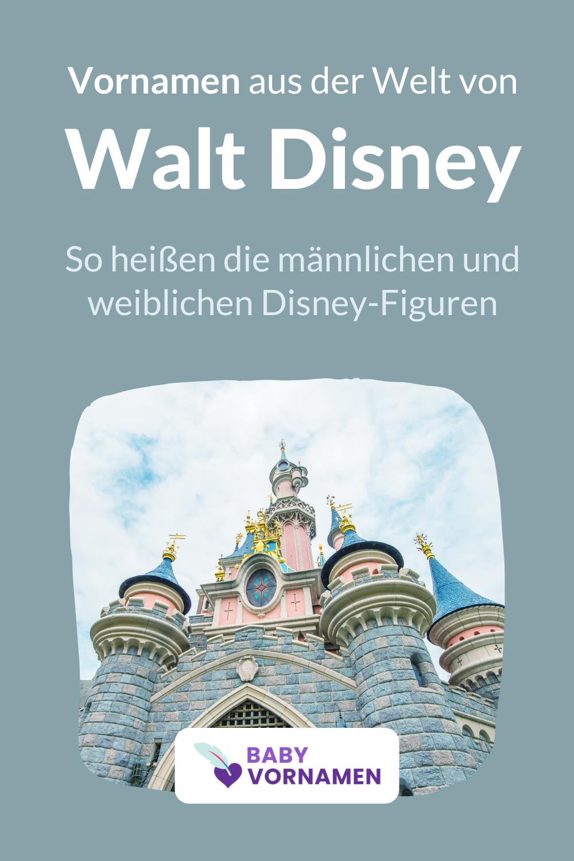 Vornamen aus der Welt von Walt Disney