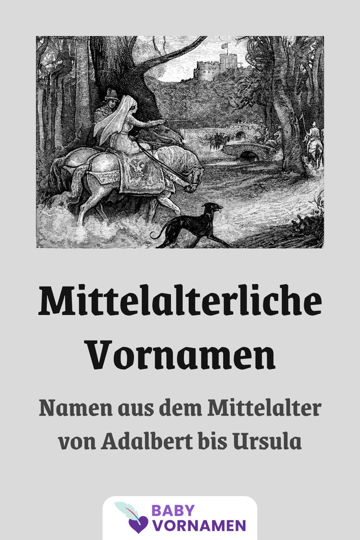 Vornamen im Mittelalter