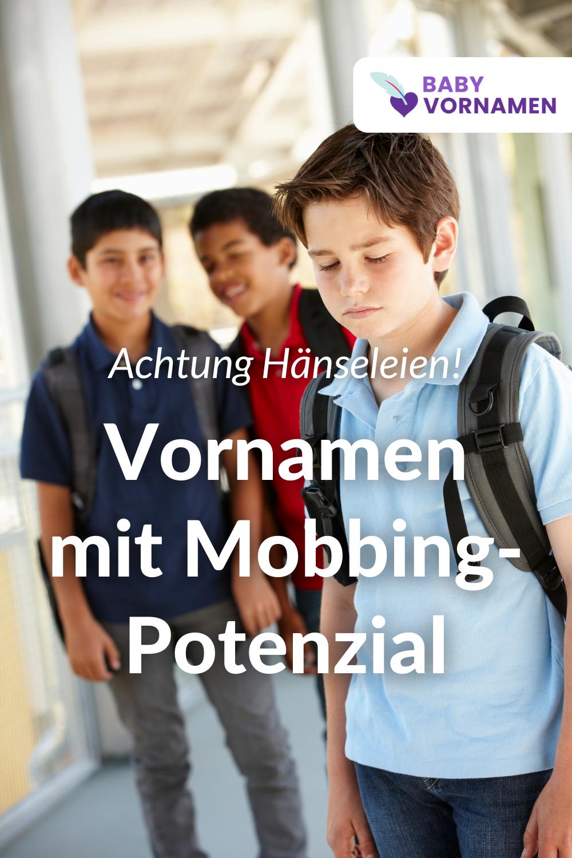 Vornamen mit Mobbing-Potenzial