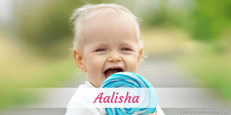 Name Aalisha als Bild