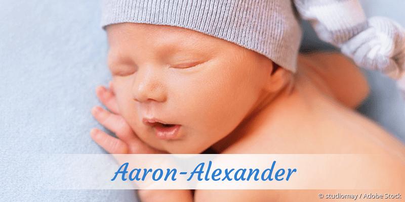 Name Aaron-Alexander als Bild