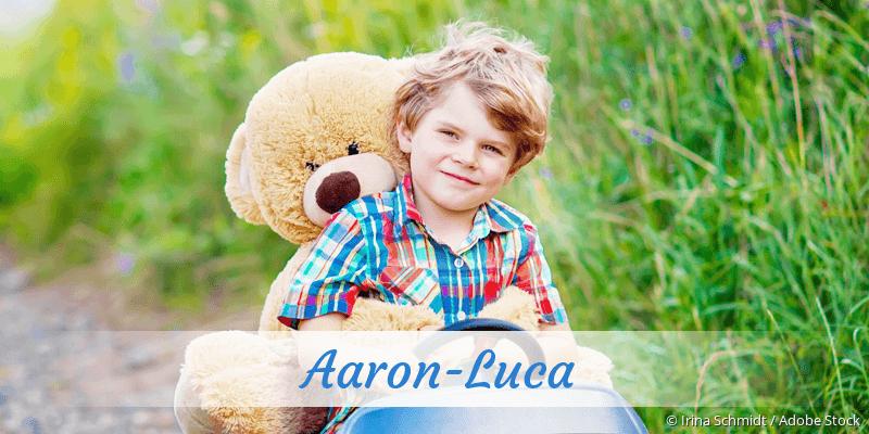 Name Aaron-Luca als Bild