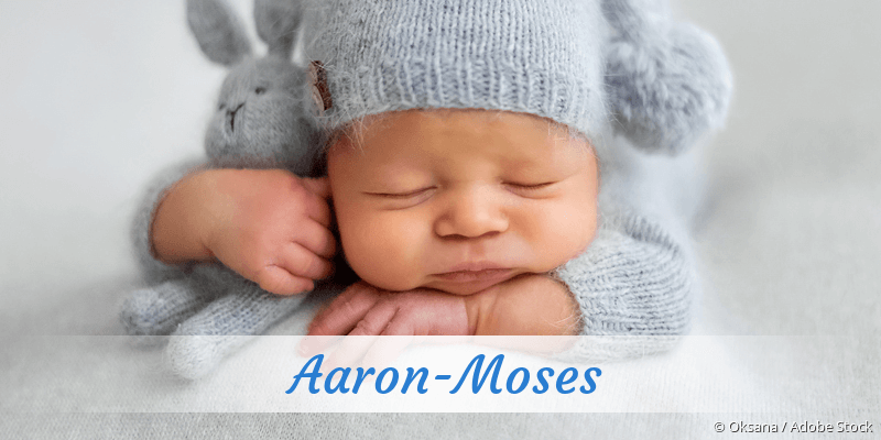 Name Aaron-Moses als Bild