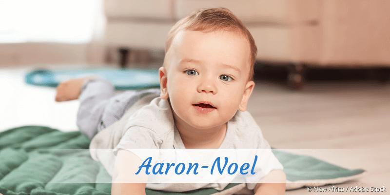 Name Aaron-Noel als Bild