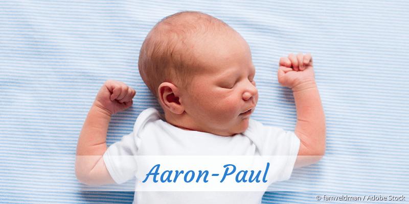 Name Aaron-Paul als Bild