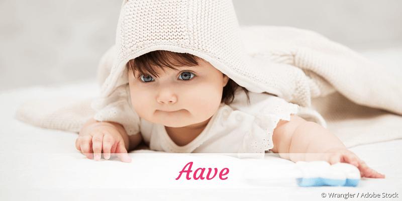 Name Aave als Bild
