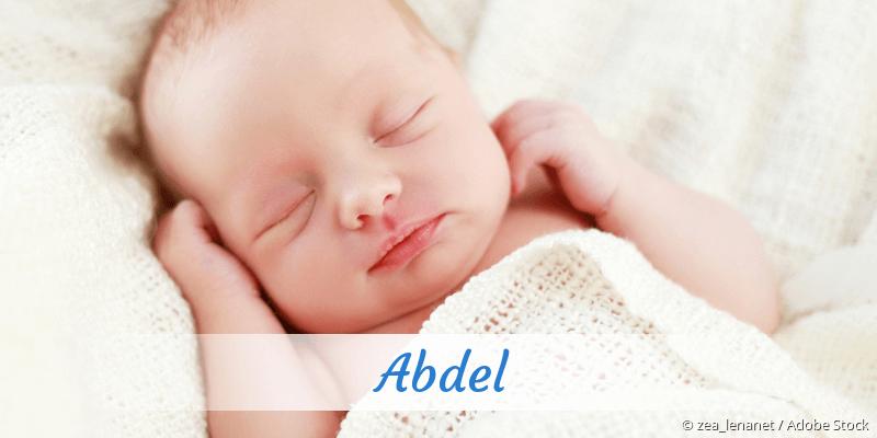 Name Abdel als Bild