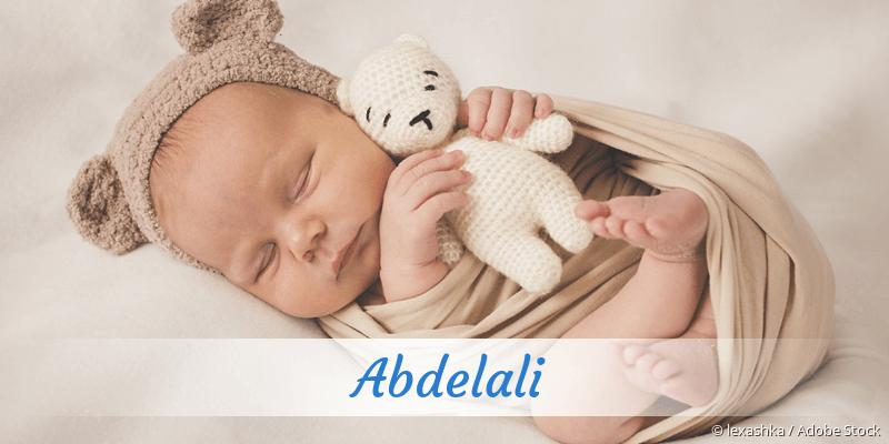 Name Abdelali als Bild