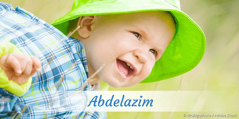 Name Abdelazim als Bild
