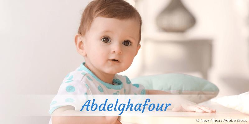 Name Abdelghafour als Bild