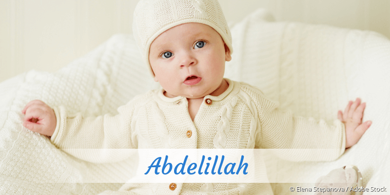 Name Abdelillah als Bild