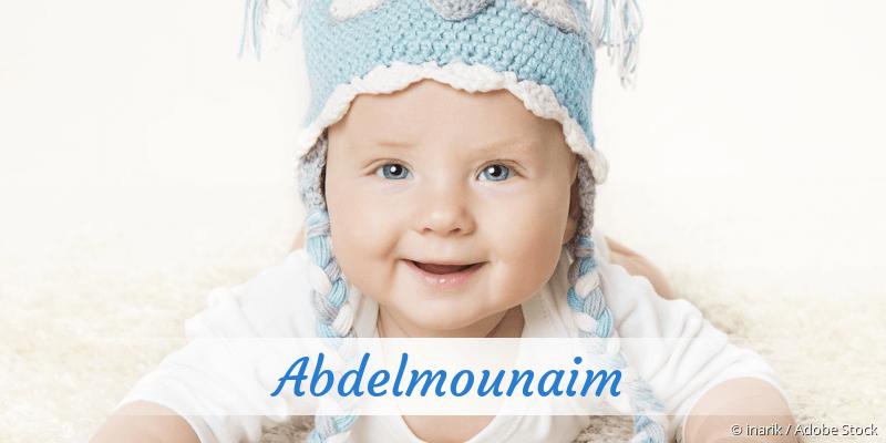 Name Abdelmounaim als Bild