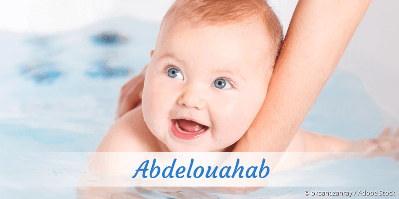 Name Abdelouahab als Bild
