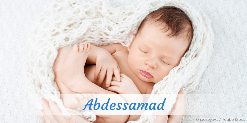 Name Abdessamad als Bild