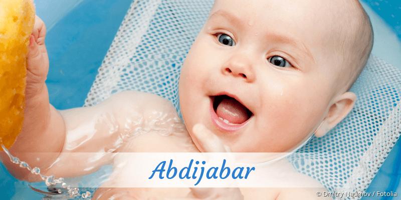 Name Abdijabar als Bild