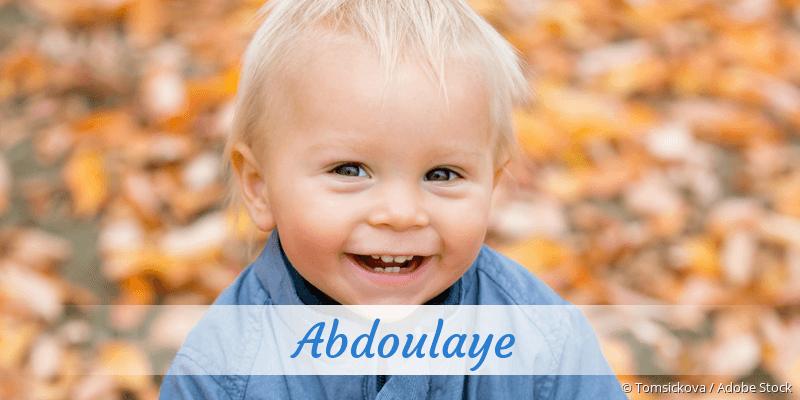 Name Abdoulaye als Bild