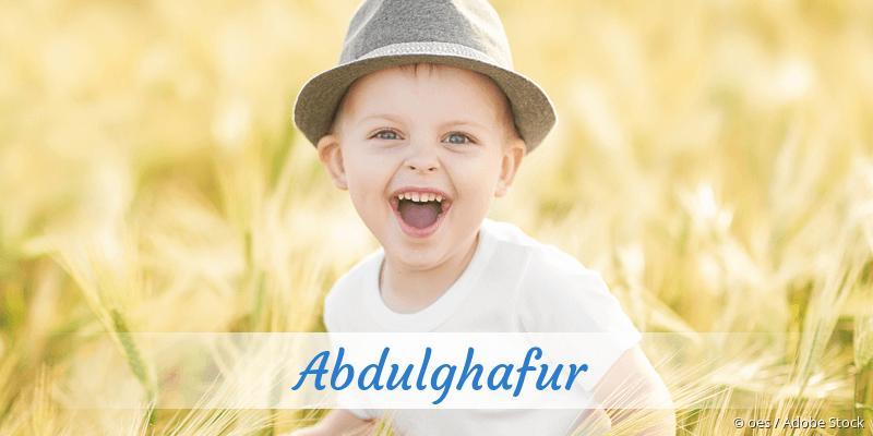 Name Abdulghafur als Bild