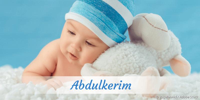 Name Abdulkerim als Bild