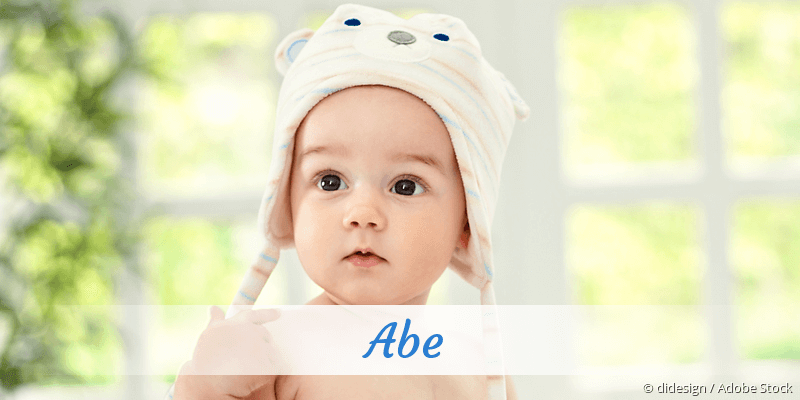 Name Abe als Bild