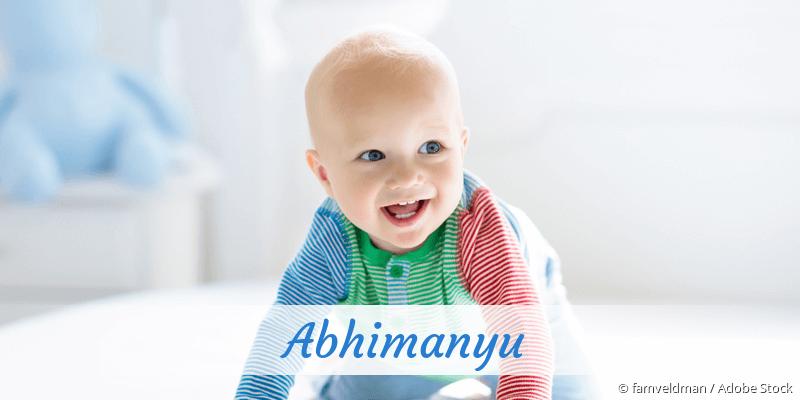 Name Abhimanyu als Bild