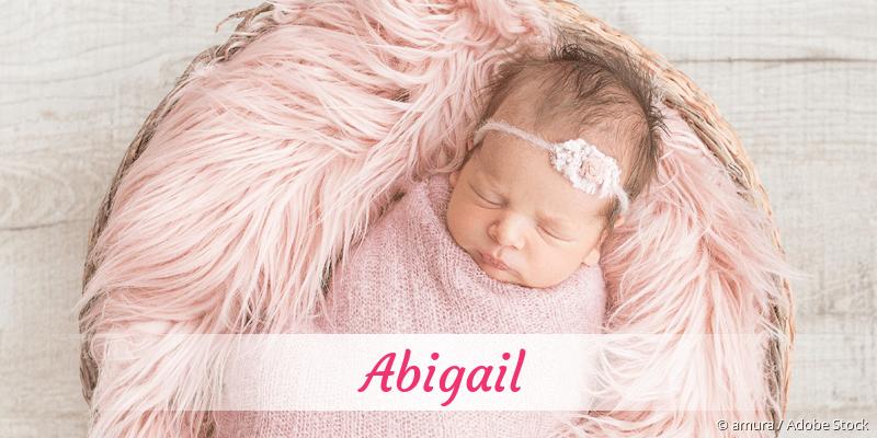 Name Abigail als Bild