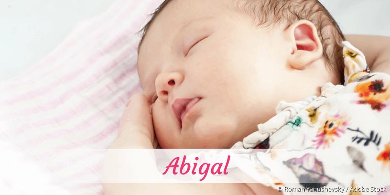 Name Abigal als Bild